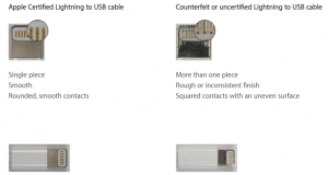 Tips memilih Kabel ori iPhone