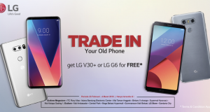 Trade In LG G6 dan LG V30 Plus
