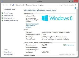 Cara Melihat Spesifikasi Laptop Atau PC