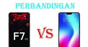 perbandingan Oppo F7 dan Vivo V9