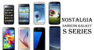 nostalgia dengan Samsung Galaxy S series