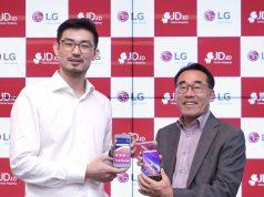 Kolaborasi LG dan JD.id untuk LG K9 di Gandaria City.