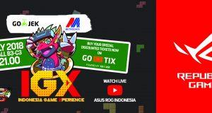 Beli ROG Gratis Jam G-Shock hanya di Indonesia Gaming Xperience
