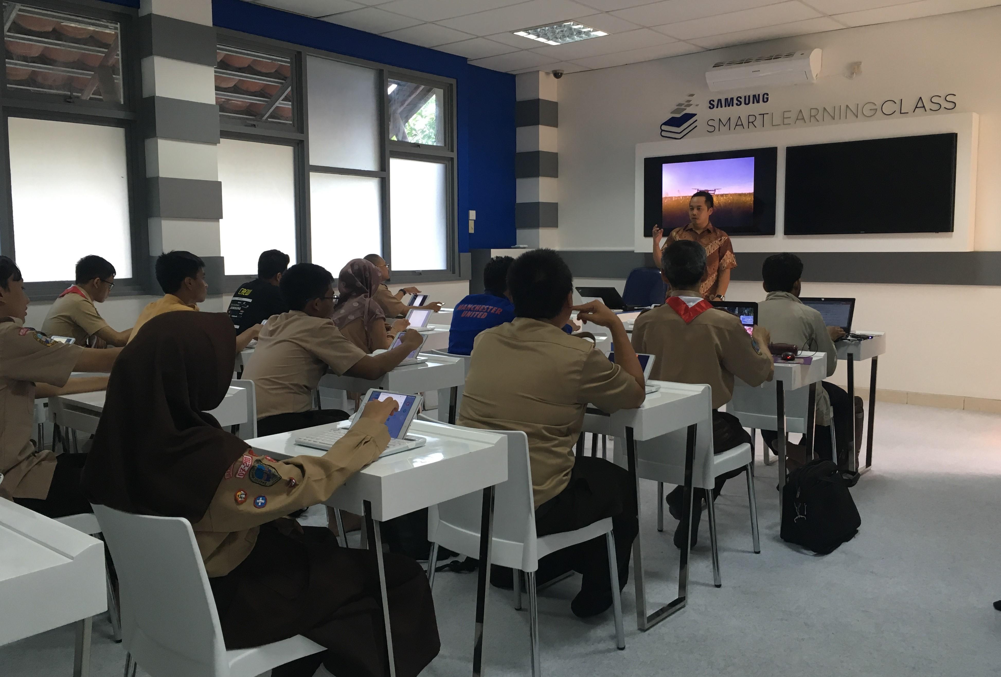 Samsung Smart Learning Class Dorong Penggunaan Teknologi