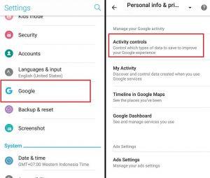 Tips aman nggak dipantau Google
