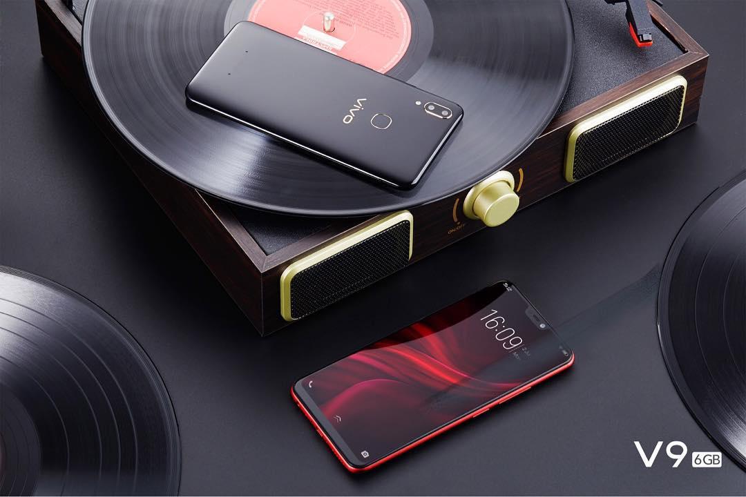 Kamera Vivo V9 6 GB Kenakan Dual Pixel Technology