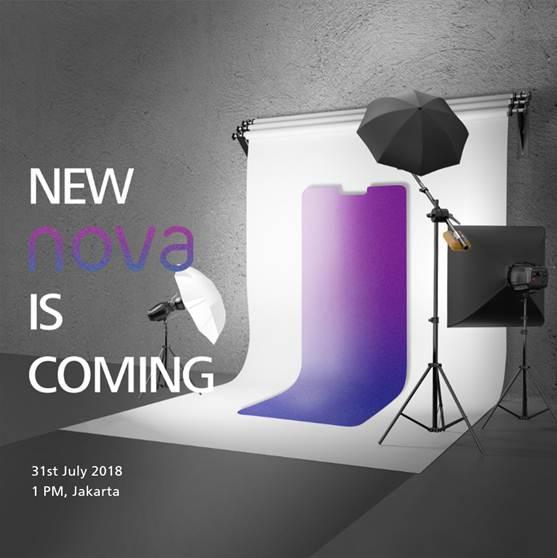 Huawei Nova Terbaru Akan Diperkenalkan
