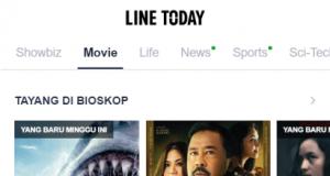 LINE TODAY Movie Kini Telah Hadir Bagi Penikmat Film