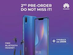 Pre order Huawei Nova 3i