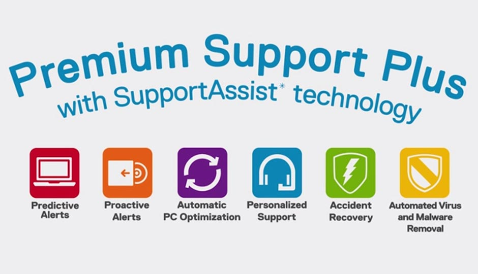 8 Layanan Dell Premium Support dan Accidental Damage