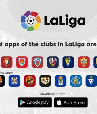 Beberapa Klub LaLiga Luncurkan Aplikasi Resmi