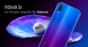 Huawei Nova 3i Jadi Trendsetter dalem Desain Gradisi Warna