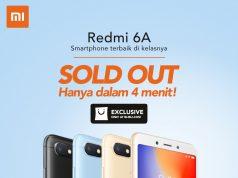 Xiaomi Redmi 6A Ludes Cuma dalem 4 Menit Aja!
