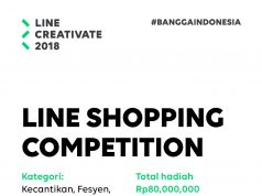 Kompetisi LINE Shopping Ada di LINE CREATIVATE 2018