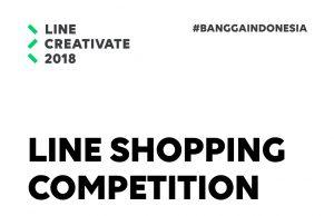 Kompetisi LINE Shopping Ada di LINE CREATIVATE 2018