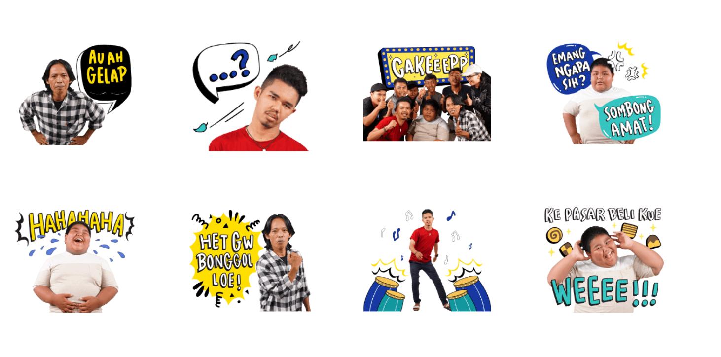 LINE Indonesia Luncurkan Stiker Animasi Bang Ijal