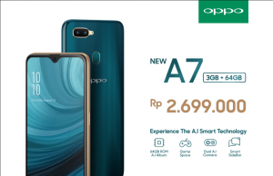 OPPO A7 RAM 3GB