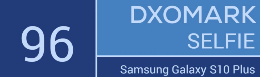 DxOmark Samsung Galaxy S10