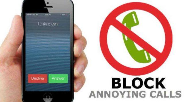 cara blokir nomor telepon
