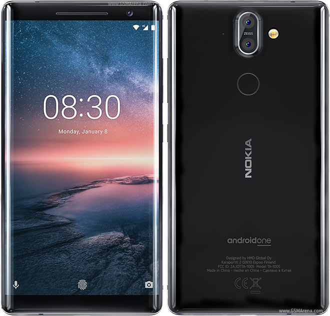 Daftar harga hp Nokia terbaru : Nokia 8 Sirocco