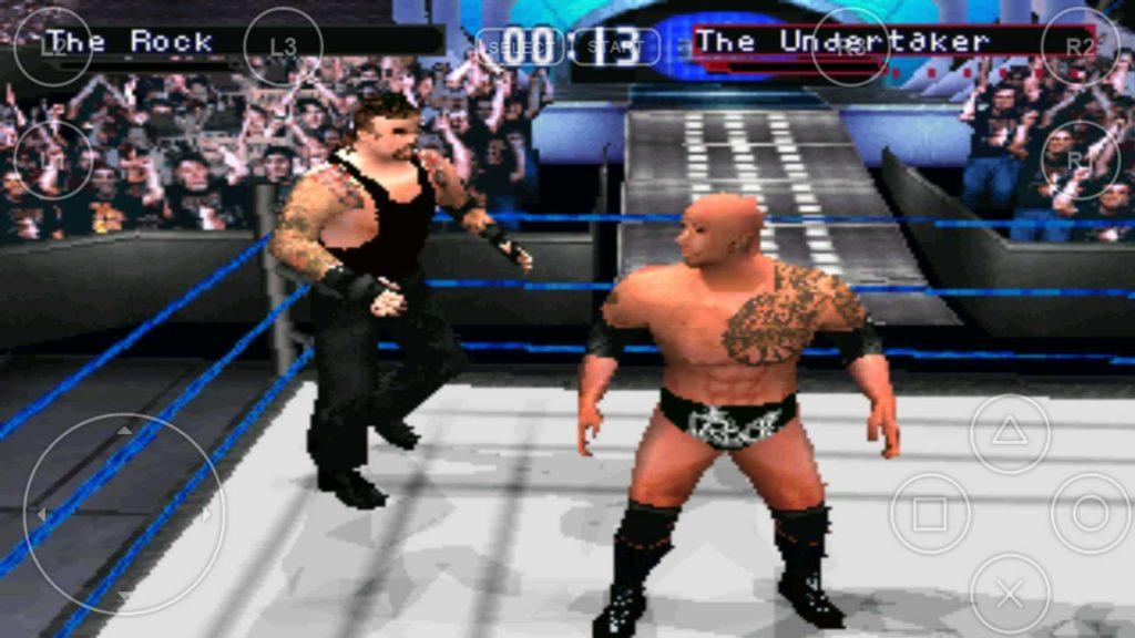 game PS1 Terbaik: WWF SmackDown 2