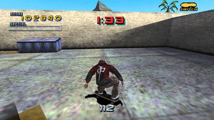 game PS1 Terbaik: Tony Hawks's Pro Skater