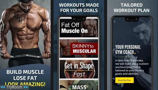 aplikasi fitness terbaik Gym Work Planner