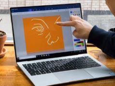laptop dengan layar touchscreen terbaik