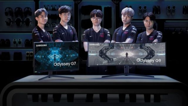 monitor gaming samsung odyssey g9 dan g7