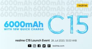 Peluncuran Realme C15 di Indonesia