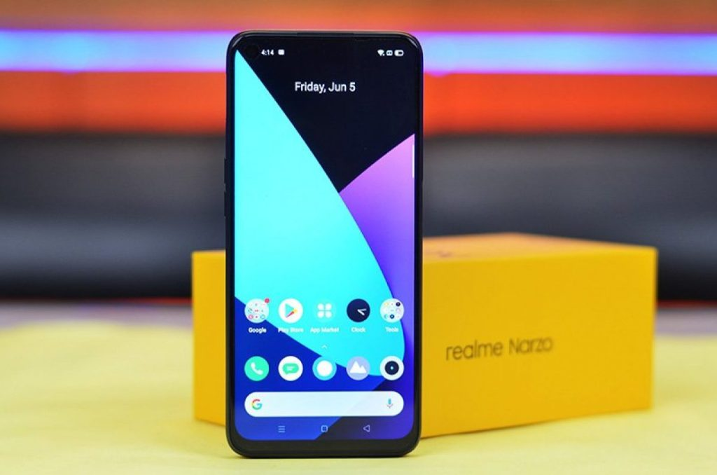 review realme narzo