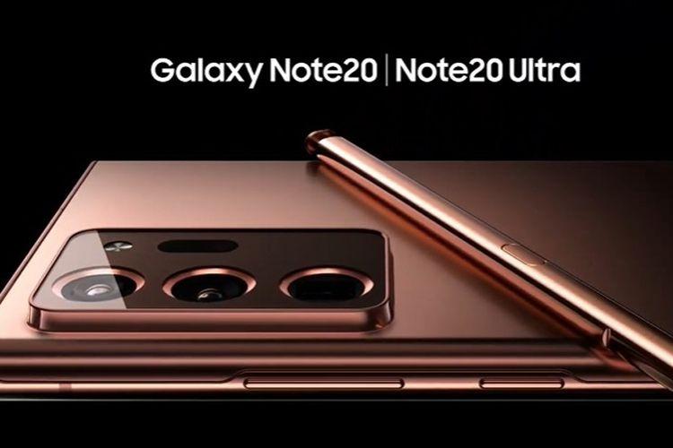 spesifikasi samsung galaxy note 20 dan note 20 ultra