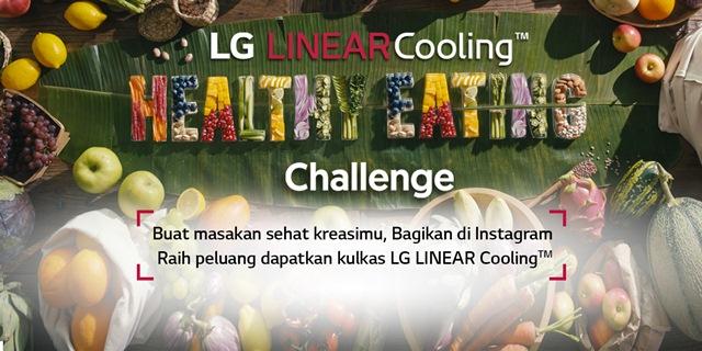 LG healthy eating challenge