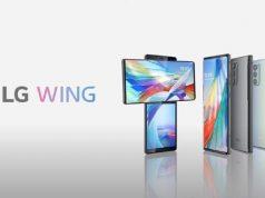 smartphone LG Wing