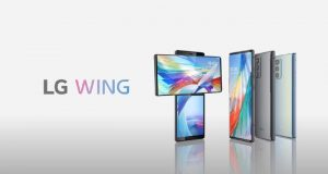 smartphone LG Wing