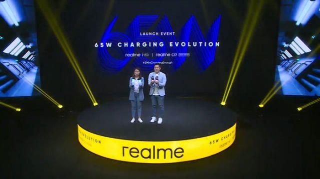 realme 7 pro dan realme c17 launching
