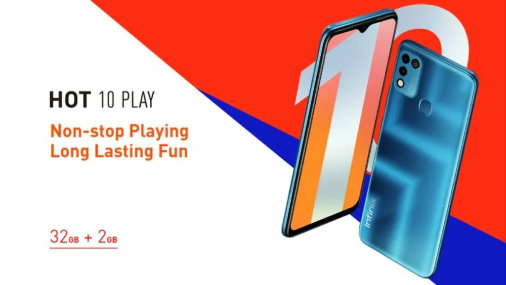 hp baterai besar terbaik: infinix hot 10 play