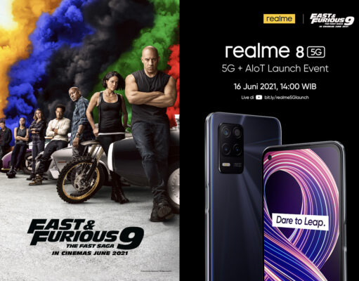 hp realme 8 5G ft. Fast Furious 9