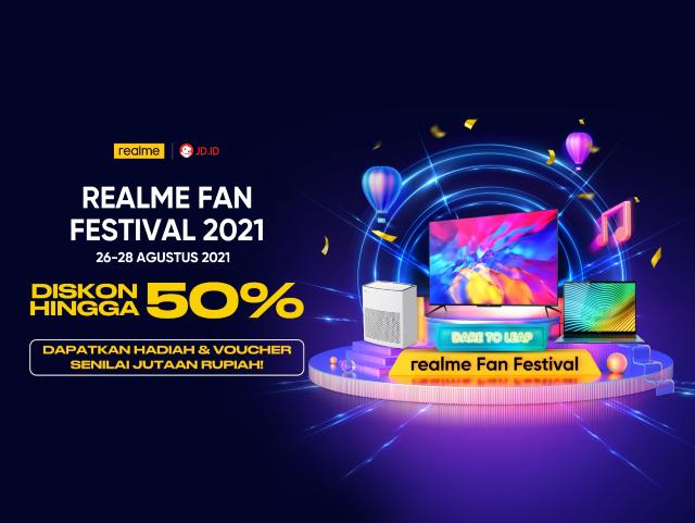 promo realme agustus 2021 diskon 50%